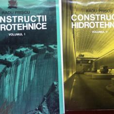 CONSTRUCTII HIDROTEHNICE - Radu Priscu (2 vol) - Carti Constructii