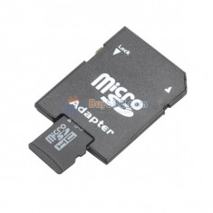 Card memorie micro sd hc 8 gb + adaptor sd mare viteza - Card Micro SD