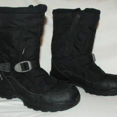 Cizme copii QUECHUA NOVADRY ARPENAZ SNOW 400 WARM - nr 35, Textil, Negru