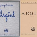 George Lesnea, Argint, Ed.Cartea Romaneasca, 1938 - Carte veche