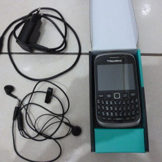 Blackberry 9320 Curve Black - Telefon mobil Blackberry 9320, Negru, Orange
