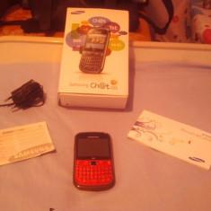 Vand Samsung chat 335 roz - Telefon Samsung, 8GB, Neblocat, Single core, 2 GB