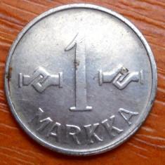 FINLANDA 1 MARKKA 1955