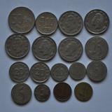 LOT 17 MONEDE DIFERITE EMISIUNI - ECUADOR, America Centrala si de Sud