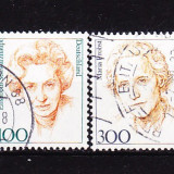Timbre GERMANIA 1997 - FEMEI CELEBRE GERMANE