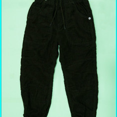 NOI → Pantaloni catifea, grosi, captusiti, H&M → baieti   5—6 ani   110—116 cm, Alta, Maro