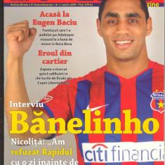 FCSB magazine nr 3-Revista oficiala a clubului STEAUA