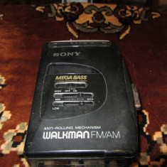 Sony Walkman WM-FX16 Mega Bass - Casetofon