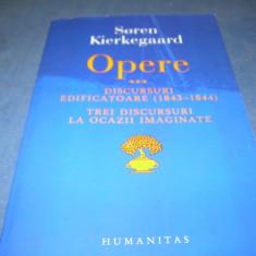 SOREN KIERKEGAARD OPERE VOL III - Filosofie, Humanitas