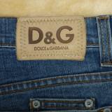 Blugi Dolce & Gabbana, D&G, model nou; marime 34, vezi dim.; impecabili, ca noi