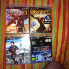Pes 2014, Fifa 13, God of War ASCENSION, Uncharted 3 - Jocuri PS3 Ea Sports, Sporturi, 12+, Multiplayer