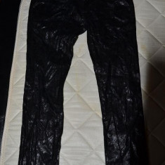 Pantaloni Dolce Gabbana D&G - Pantaloni dama D&G, Marime: 29, Culoare: Negru, Lungi, Mustar