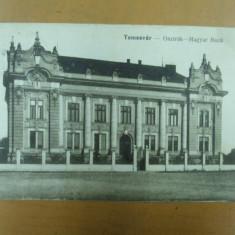 Carte postala Temesvar Osztrak Magyar Bank