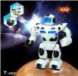 Super cadou! robot electronic-MERGE,TRAGE CU ARMA,SUNETE . ROBOT INTELIGENT., Plastic, Unisex