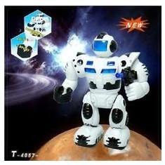 Super cadou! robot electronic-MERGE, TRAGE CU ARMA, SUNETE . ROBOT INTELIGENT. - Roboti de jucarie, Plastic, Unisex