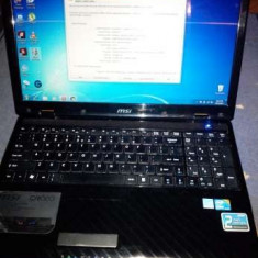 Vand laptop MSI CR620 i3, Intel Core i3, 4 GB, 320 GB, Windows 7