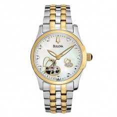 Ceas Bulova Ladies' BVA Mechanical - Ceas dama Bulova, Casual, Mecanic-Automatic, Inox, Analog