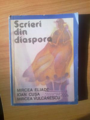 s3 SCRIERI DIN DIASPORA {Mircea Eliade, I. Cusa, Mircea Vulcanescu} foto