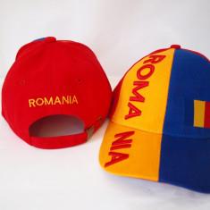 Sapca ROMANIA tricolor - steag sepci reglabile stema caciula fes chipiu RO11 - Fes Barbati, Culoare: Din imagine