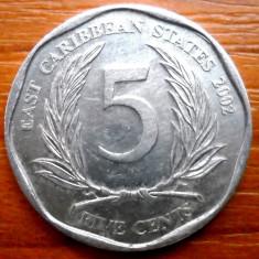 CARAIBE 5 CENTS 2002