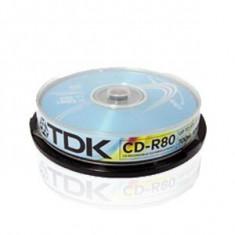 CD-R TDK, 700MB, 52x, bulk 10buc - 004223