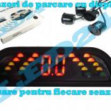 SENZORI DE PARCARE CU AFISAJ PE LED SI SUNET LCD, ASISTENTA PE 4 DIRECTII