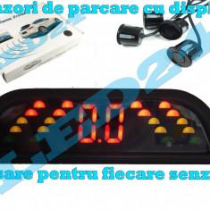 SENZORI DE PARCARE CU AFISAJ PE LED SI SUNET LCD, ASISTENTA PE 4 DIRECTII, SunTop