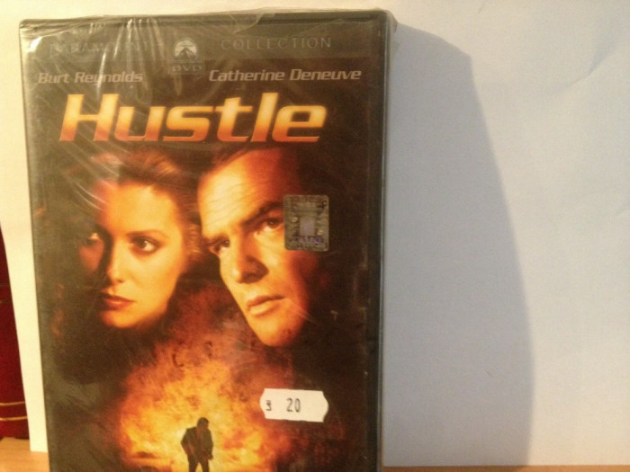 HUSTLE - with BURT REYNOLDS & CATHERINE DENEUVE (1975/2008) - DVD/NOU SIGILAT