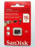 Card de memorie Micro SDHC, 16GB, SanDisk - 004257, Micro SD, 16 GB