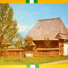 Arhitectura populara Maramures - ISTORIE, ETNOGRAFIE, ARTA - necirculata anii 1986 - 2+1 gratis toate produsele la pret fix - RBK3005 - Carte Postala Maramures dupa 1918