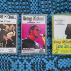 GEORGE MICHAEL - FAITH / OLDER / QUEEN LIVE (3 casete audio)