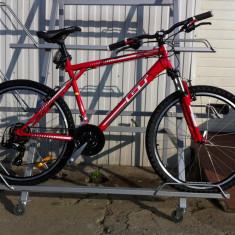 Bicicleta GT Palomar - Mountain Bike Nespecificat, 26 inch, Numar viteze: 21, Otel, Rosu, MTB Full Suspension