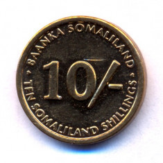 Somaliland 10 shillings 2002 UNC