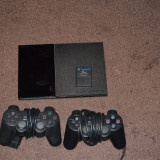 PS 2, 2 manete, 11 jocuri - PlayStation 2 Sony
