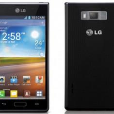 Vand sau schimb lg optimus l7 - Telefon mobil LG Optimus L7, Negru, Neblocat
