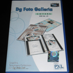 Dg Foto Art Galleria - DVD Covers vol.-01 ( Template-uri full editabile ) - Software Grafica, Editari foto si digitale, Windows 10, Altul