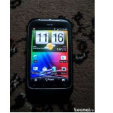 Smartphone htc wildfire s + accesorii - Telefon mobil HTC Wildfire S, Negru, Neblocat