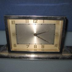 Ceas vechi Artdeco Haller Germany DRP, interbelic, functional, system culisabil