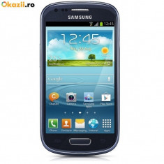 Samsung S3 mini Blue - Telefon mobil Samsung Galaxy S3 Mini, Albastru, 16GB, Neblocat