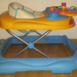 Premergator 2 in 1 + protectie scari, Altele, Plastic, Multicolor