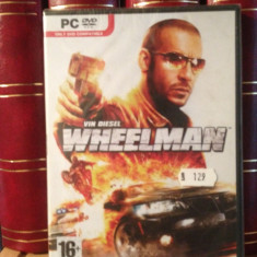 WHEELMAN -vin diesel (pc/dvd rom)-2009 JOC PC -gen: ACTIUNE - NOU/SIGILAT - Jocuri PC Altele, Shooting, 16+, Single player