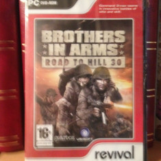 BROTHERS IN ARMS - ROAD TO HILL 30 - JOC PC/DVD (2007) -  NOU/SIGILAT