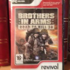 BROTHERS IN ARMS - ROAD TO HILL 30 - JOC PC/DVD (2007) - NOU/SIGILAT - Jocuri PC Altele, Shooting, 18+
