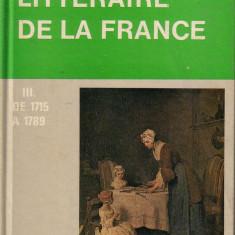 Histoire litteraire de la France de la1715 la 1789 Altele