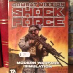 COMBAT MISSION SHOCK FORCE -JOC PC/DVD (2007) - NOU/SIGILAT - Jocuri PC Altele, Strategie, 12+