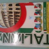 Invata simplu si repede limba italiana (4 Audio CD - Manual - Ghid)