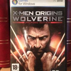 X - MEN ORIGINS WOLVERINE(uncaged edition) - JOC PC/DVD (2009) nou/sigilat