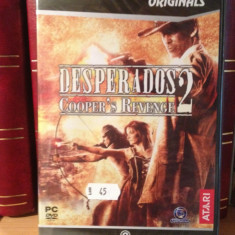 "DESPERADOS 2 (cooper""s revange) - JOC PC/DVD (2008) NOU/SIGILAT"