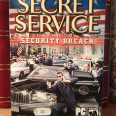 SECRET SERVICE - SECURITY BREACH - JOC PC/DVD (2004) - NOU/SIGILAT - Jocuri PC Activision, Shooting, 12+