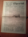 ziarul sportul 14 iunie 1986-etapa  diviziei A ,steaua este pe primul loc